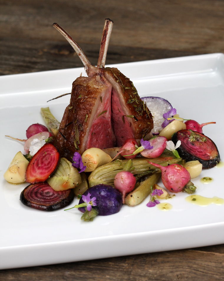 Lamb Roasted Veg