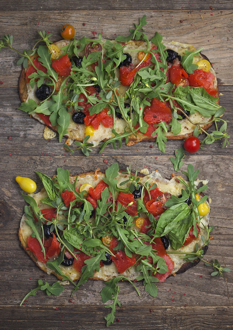 Gluten free cauliflower pizza - photo philip blankenship